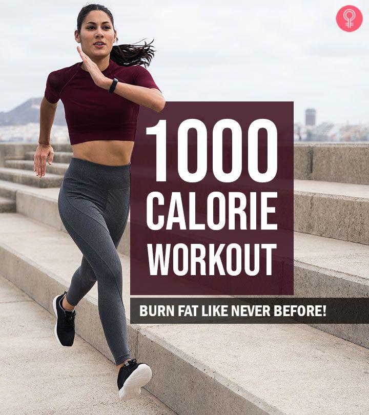 1000 Calorie Workout - Can You Burn 1000 Calories A Day ...