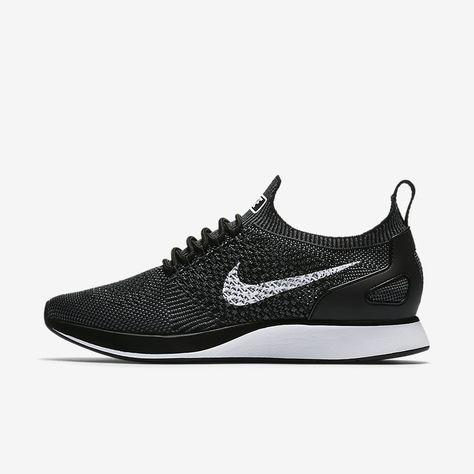 buy popular f4152 298c6 size 7 black Nike Air Zoom Mariah Flyknit Racer Women s Shoe Basket Nike  Air, Baskets