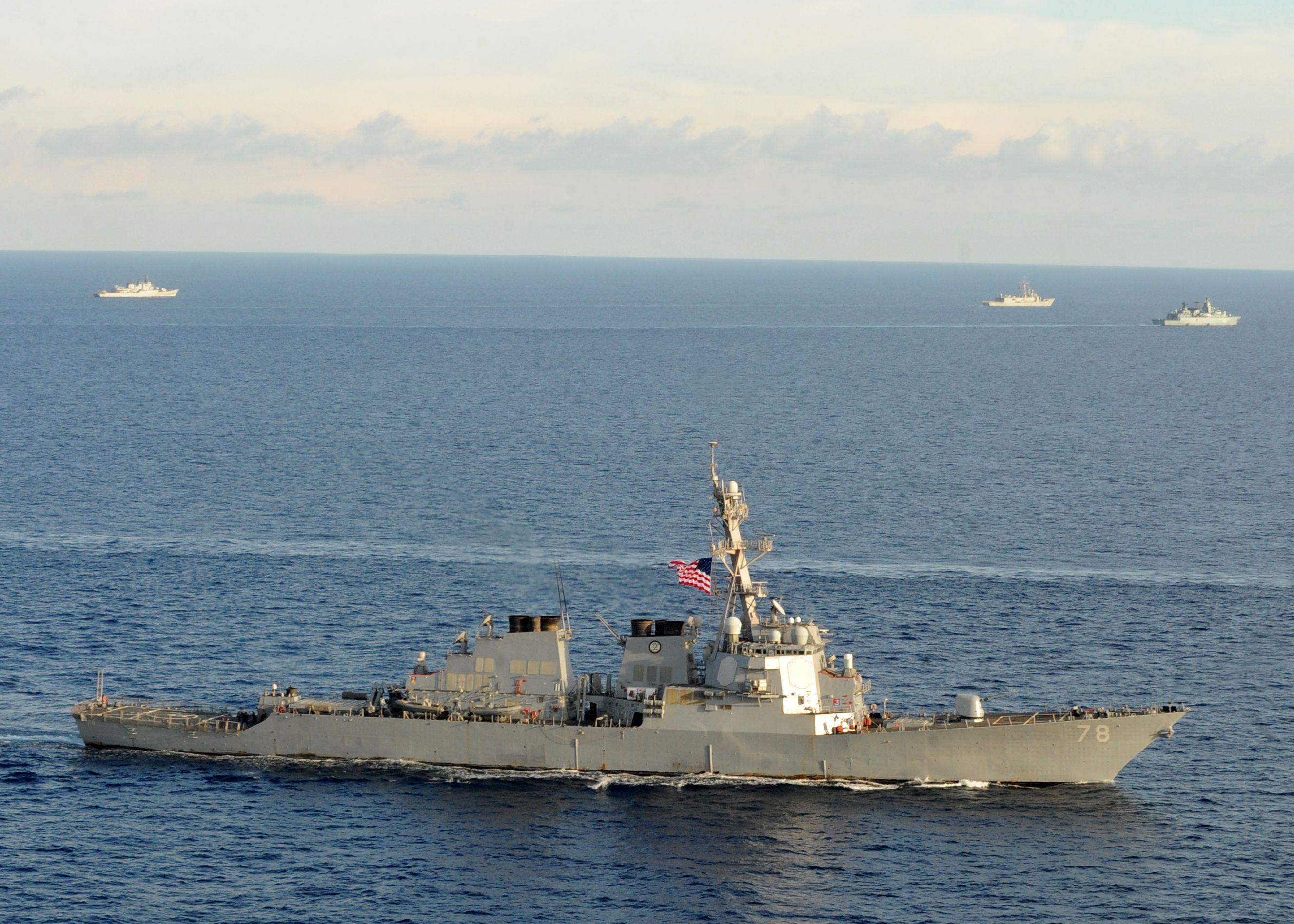 Uss Porter Ddg 78 Navy Day United States Navy Battleship