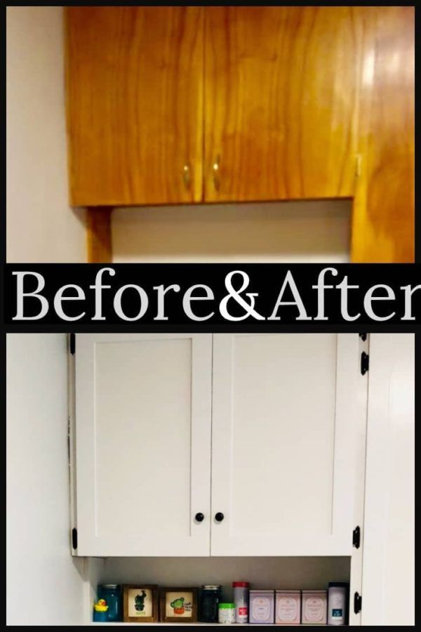 Budget Kitchen Remodel: How I remodeled my small kitchen for less than $400 #kitchenremodelsmall