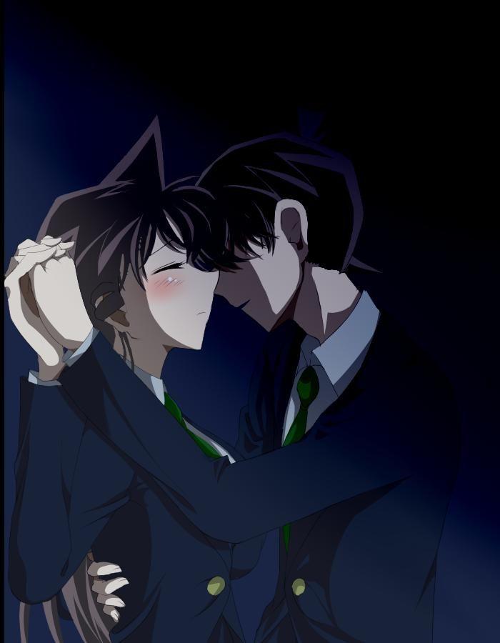 Tags Anime Fanart Detective Conan Mouri Ran Kudou Shinichi