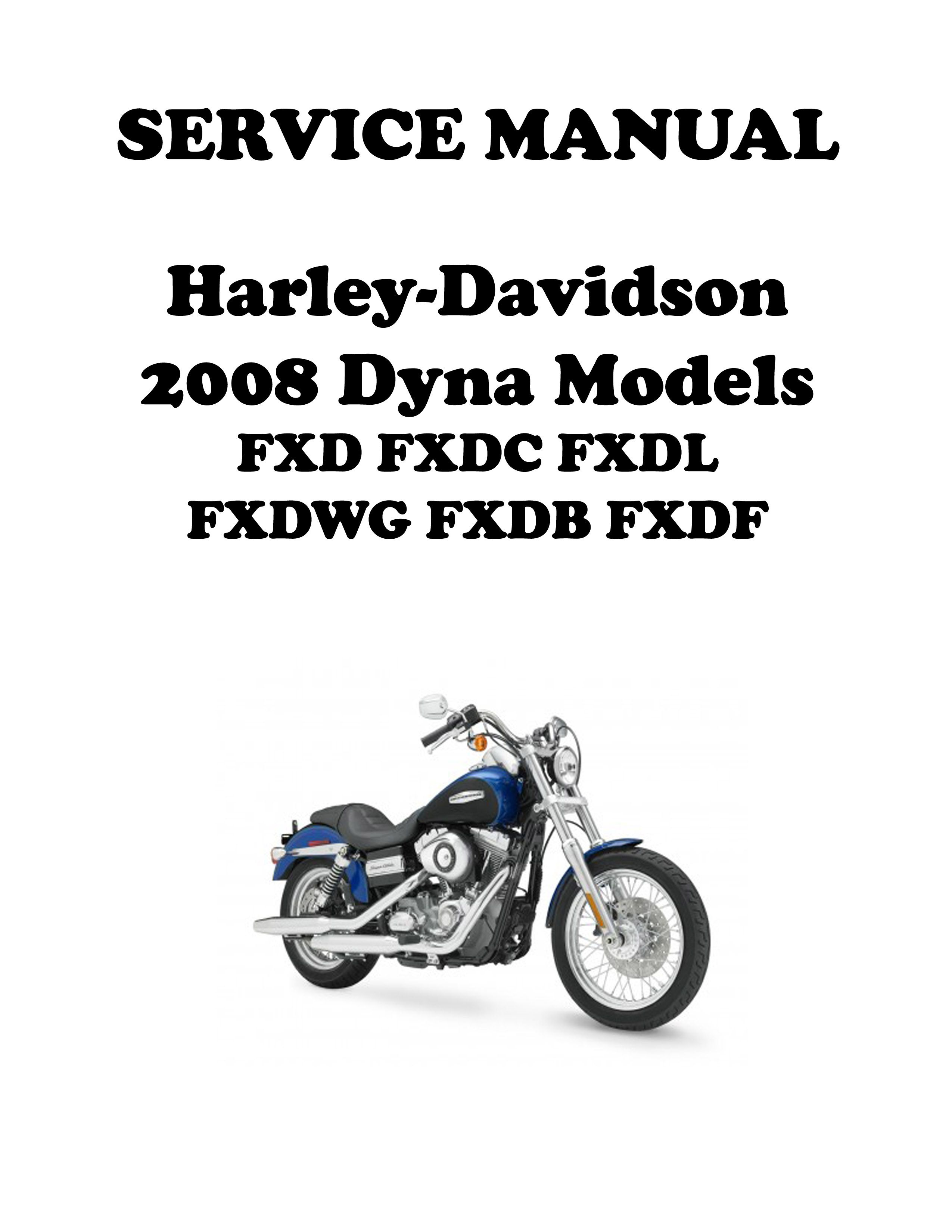 Manual Harley Fxdl