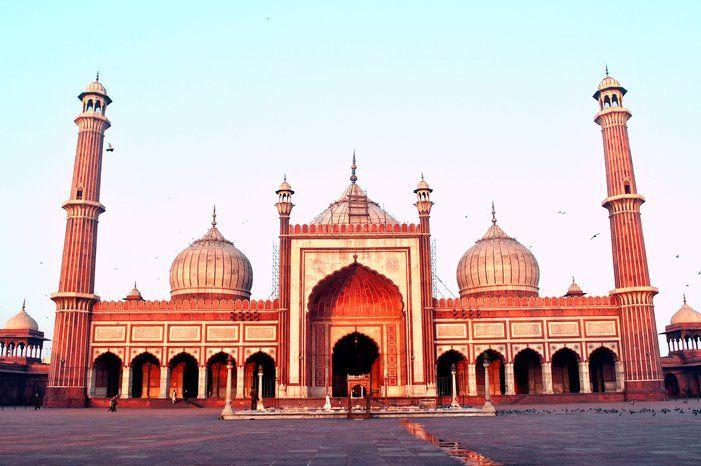 Jama Masjid India S Largest Mosque Located In Delhi Delhi City