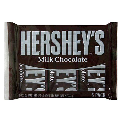 Hershey S Milk Chocolate Bars 6 Count Chocolate Milk Chocolate Candy Bar Hershey Chocolate