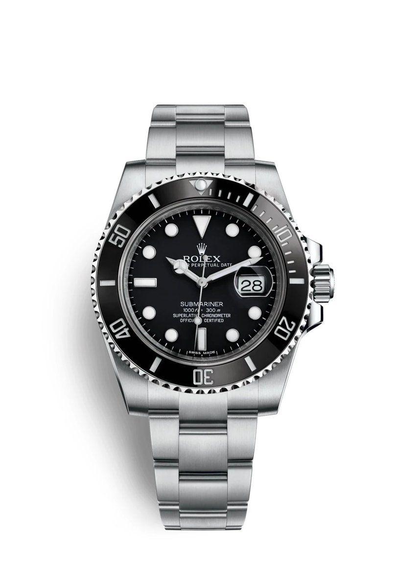 SUBMARINER DATEBlack in 2020 Rolex watches submariner