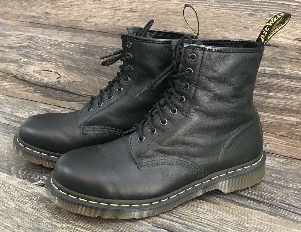 doc martens mens black boots