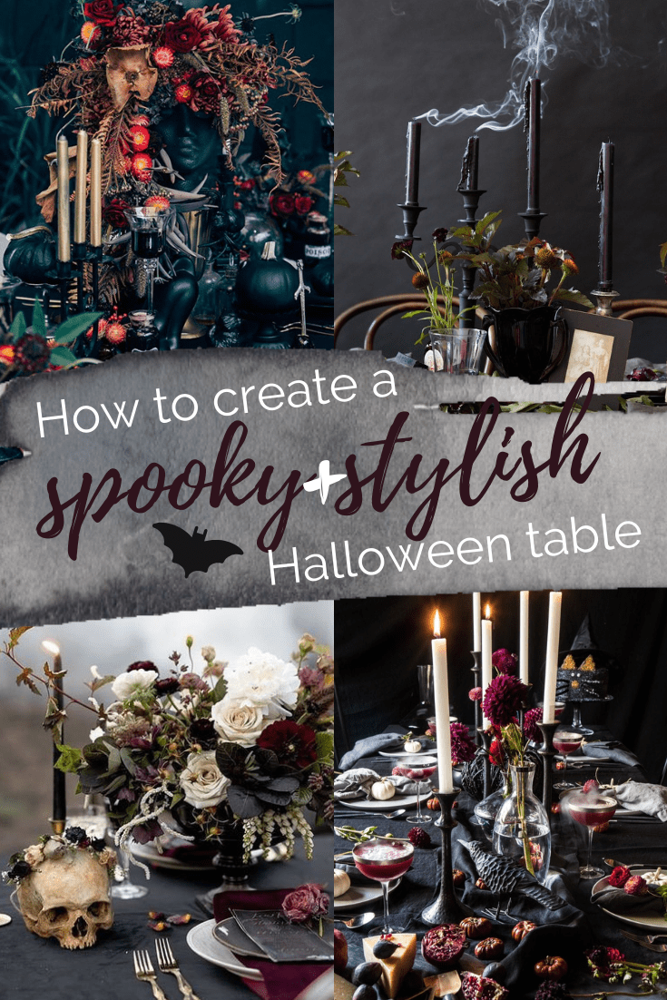 Sophisticated Halloween Dinner Party.How To Create A Spooky And Stylish Halloween Table