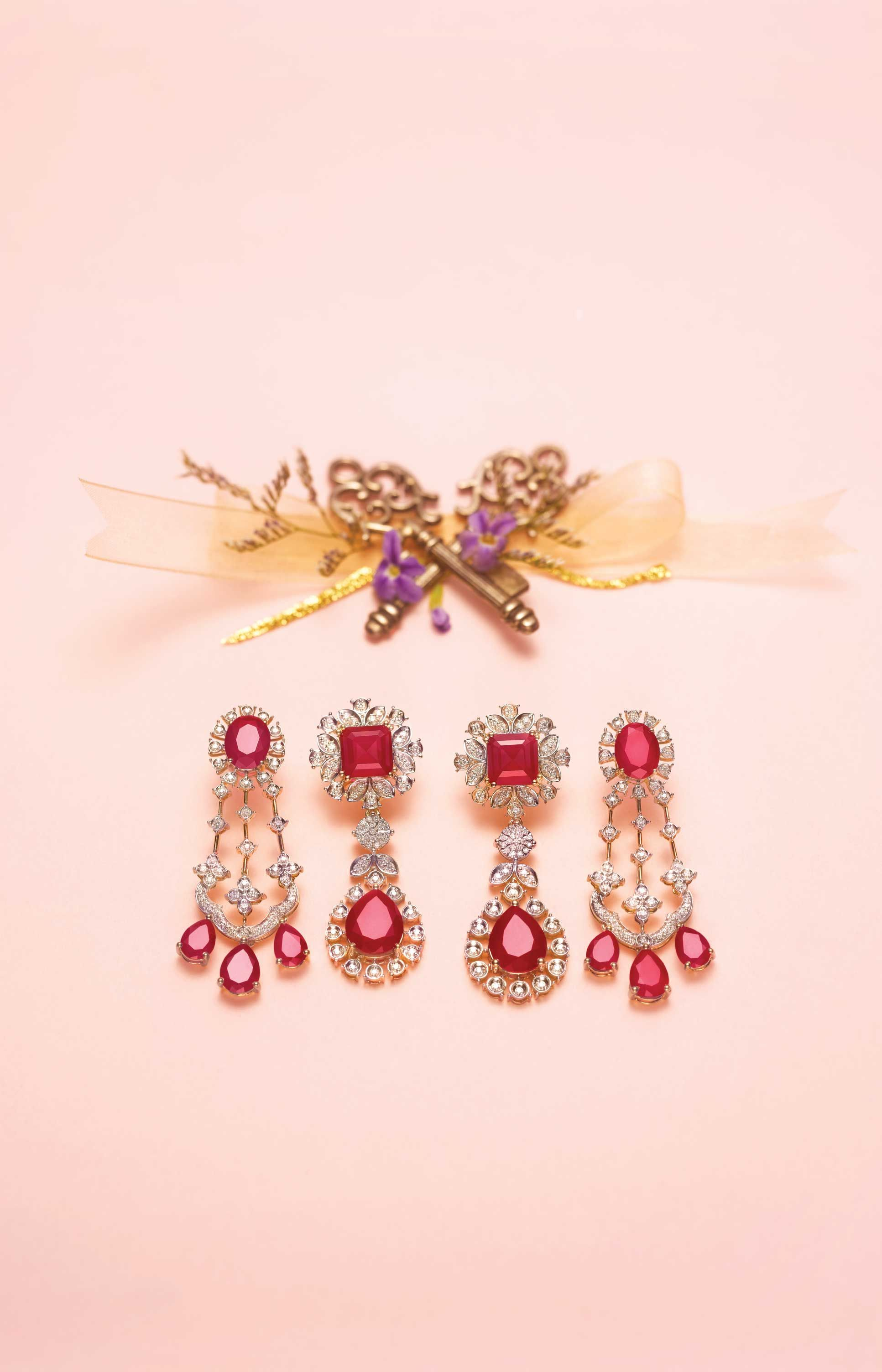 Tanishq jewelry | Earrings | Pinterest | Ear rings, Jewel and Diamond