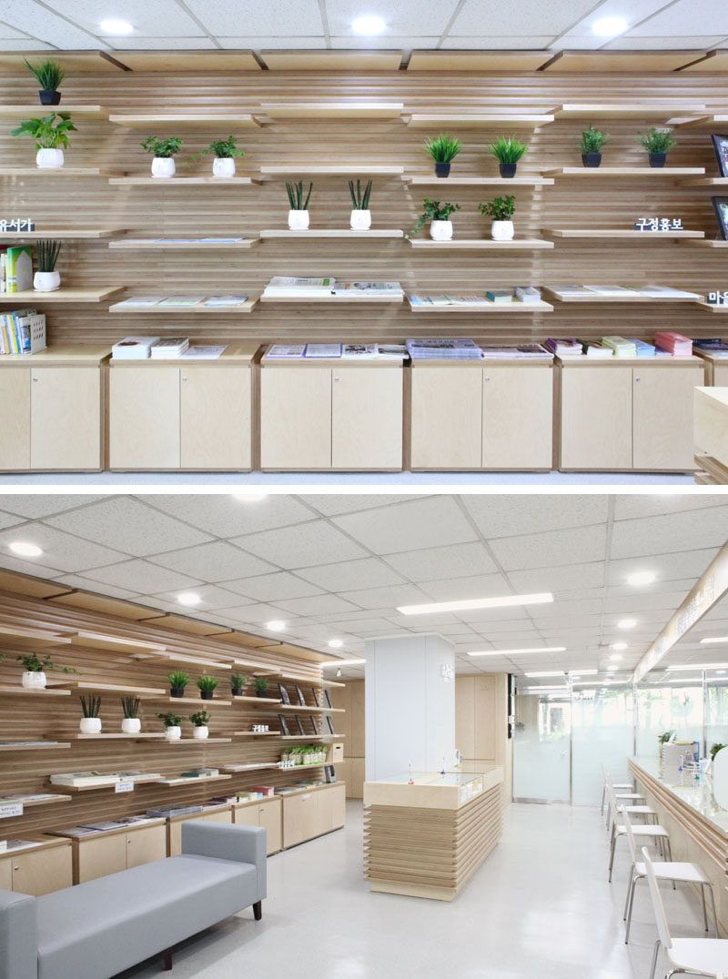 Shelving Idea This Wood Slot Wall Can Reposition Shelves Anywhere