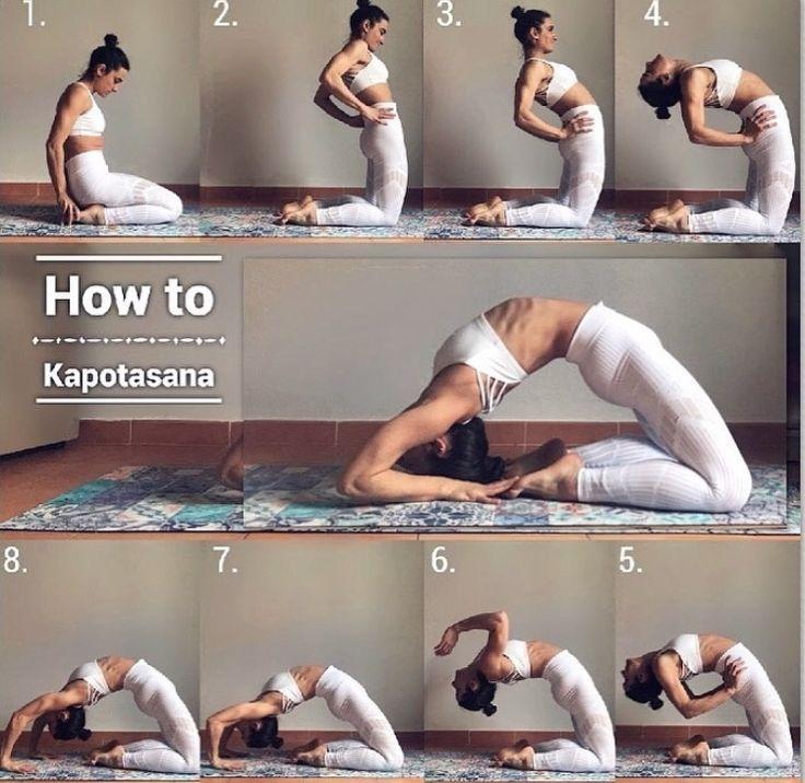 Kapotasana Yoga Health Ideas Kapotasana Yoga Postures Yoga Asanas