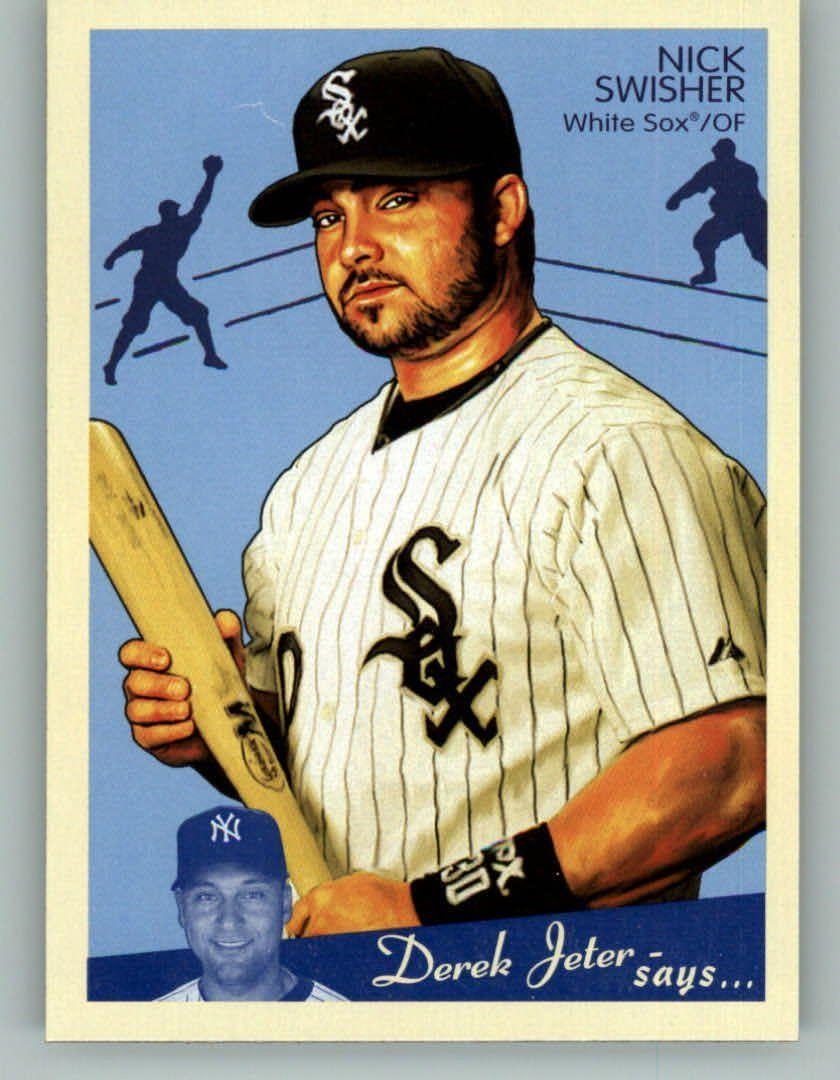 2008 Upper Deck Goudey 45 Nick Swisher Chicago White Sox