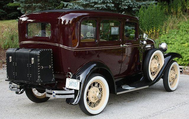 1930 Ford Model A Fordor Sedan