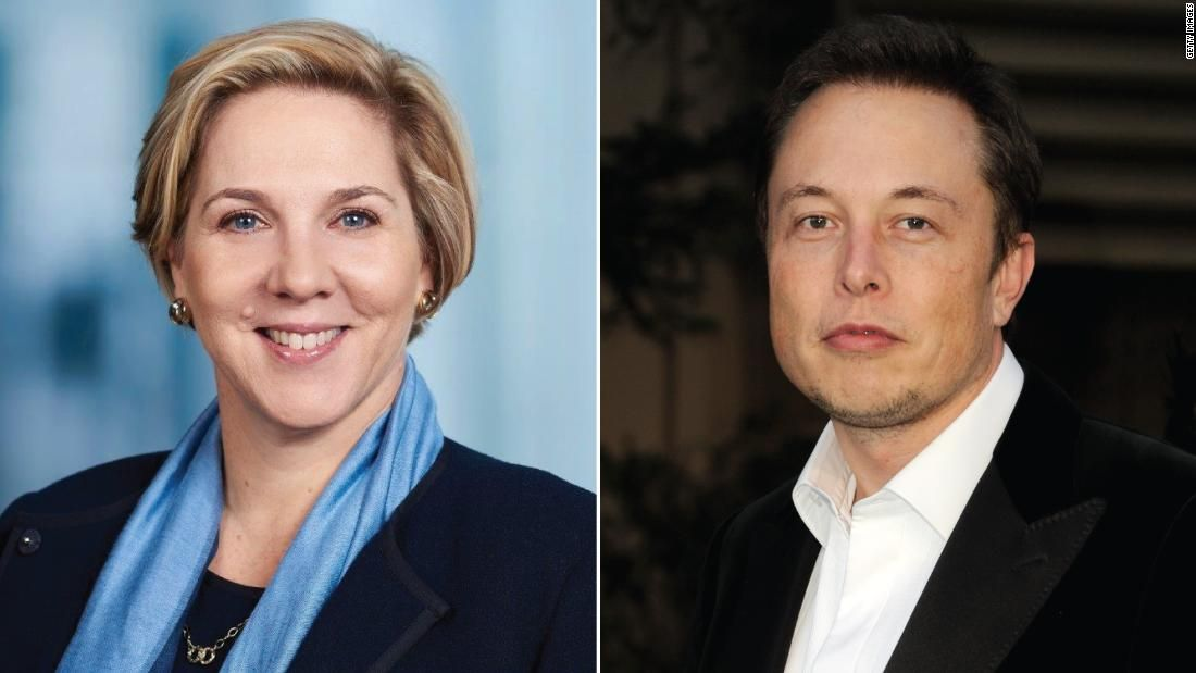 Elon musks new boss at tesla is robyn denholm tesla