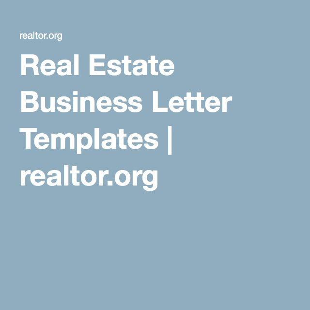 Real Estate Business Letter Templates realtororg Real Estate - real estate agent expense tracking spreadsheet
