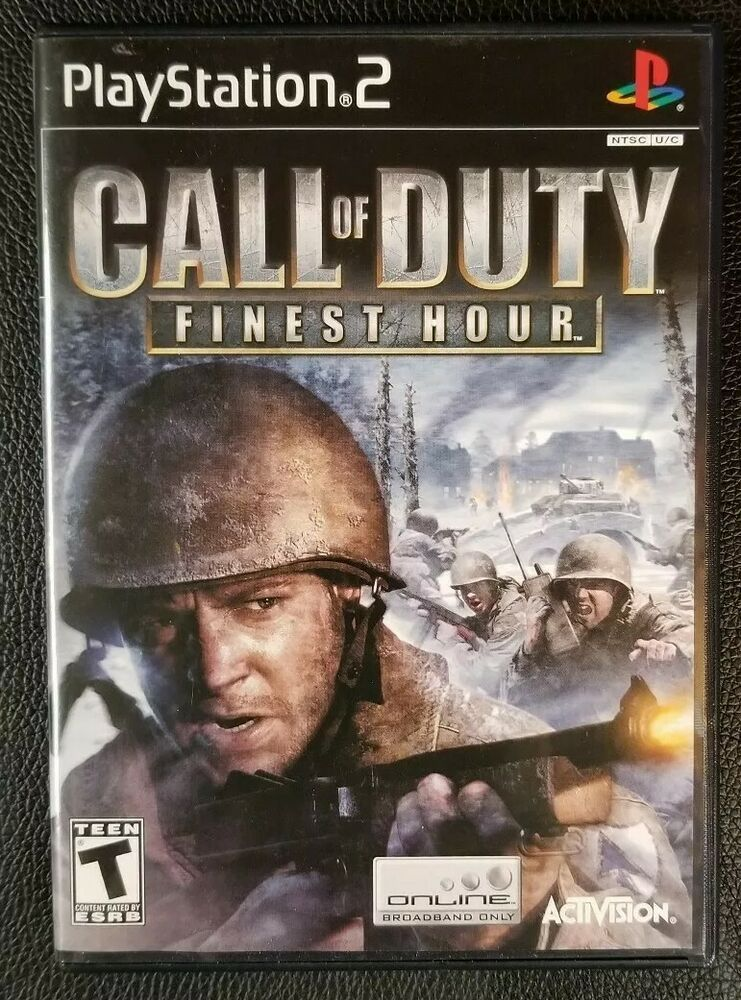 Call of Duty: Finest Hour (Sony PlayStation 2, 2004) #ps4