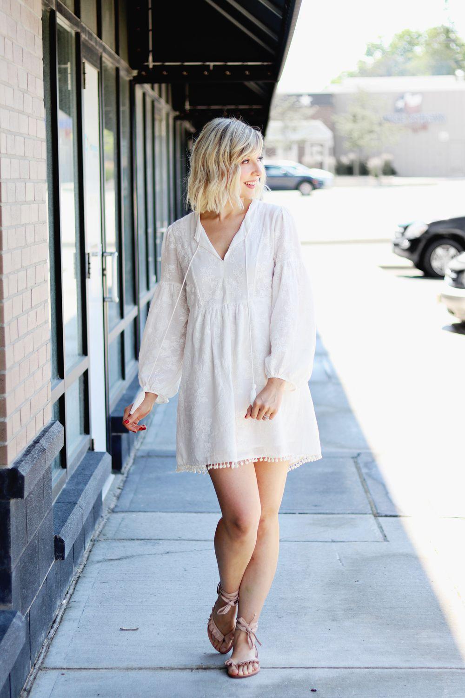 My Favorite Summer Tunic Dress Boho Feel Zara Dress Striesnvibes Cotton Dress Summer Boho Dress Zara Dresses [ 1500 x 1000 Pixel ]