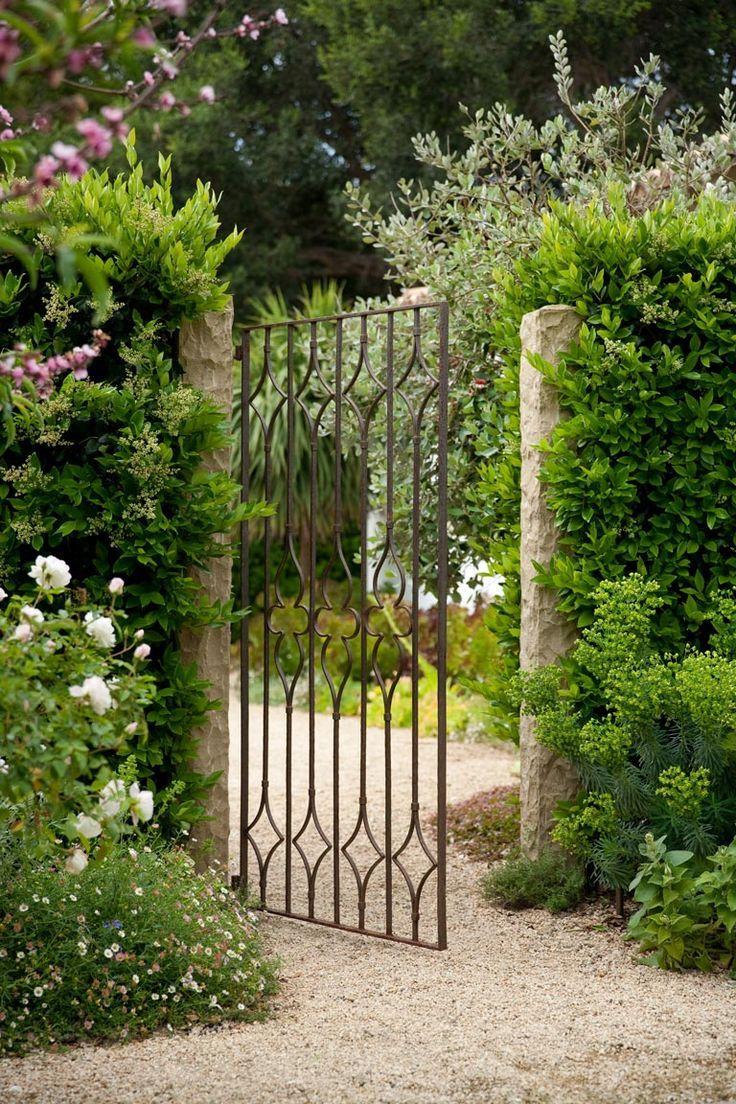 Hello Lovely Inspiration For Interiors Metal Garden Gates Garden Gate Design Garden Gates