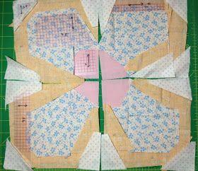 Patchwork Please Zakka Along 2 Swedish Bloom Quilt Quilts Patchwork Tutorial Flower Quilts