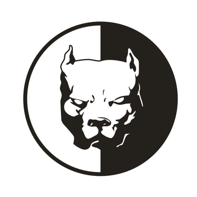 Resultado De Imagen Para Pitbull Logo Perro Dibujos Tribales