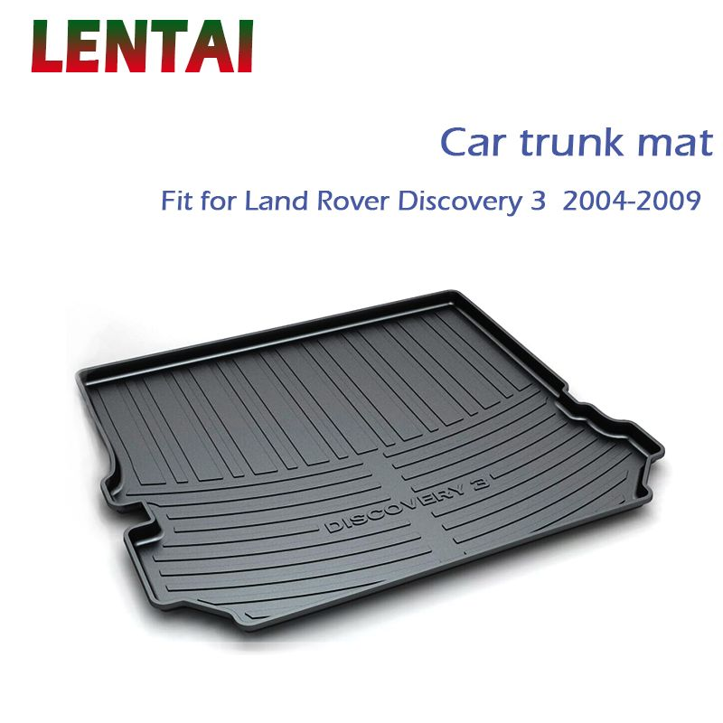 Lentai 1pc Rear Trunk Cargo Mat For Land Rover Lr3 Discovery 3 2004 2005 2006 2007 2008 2009 Styling Boot Liner Tray Accessories Attention Valid Discou