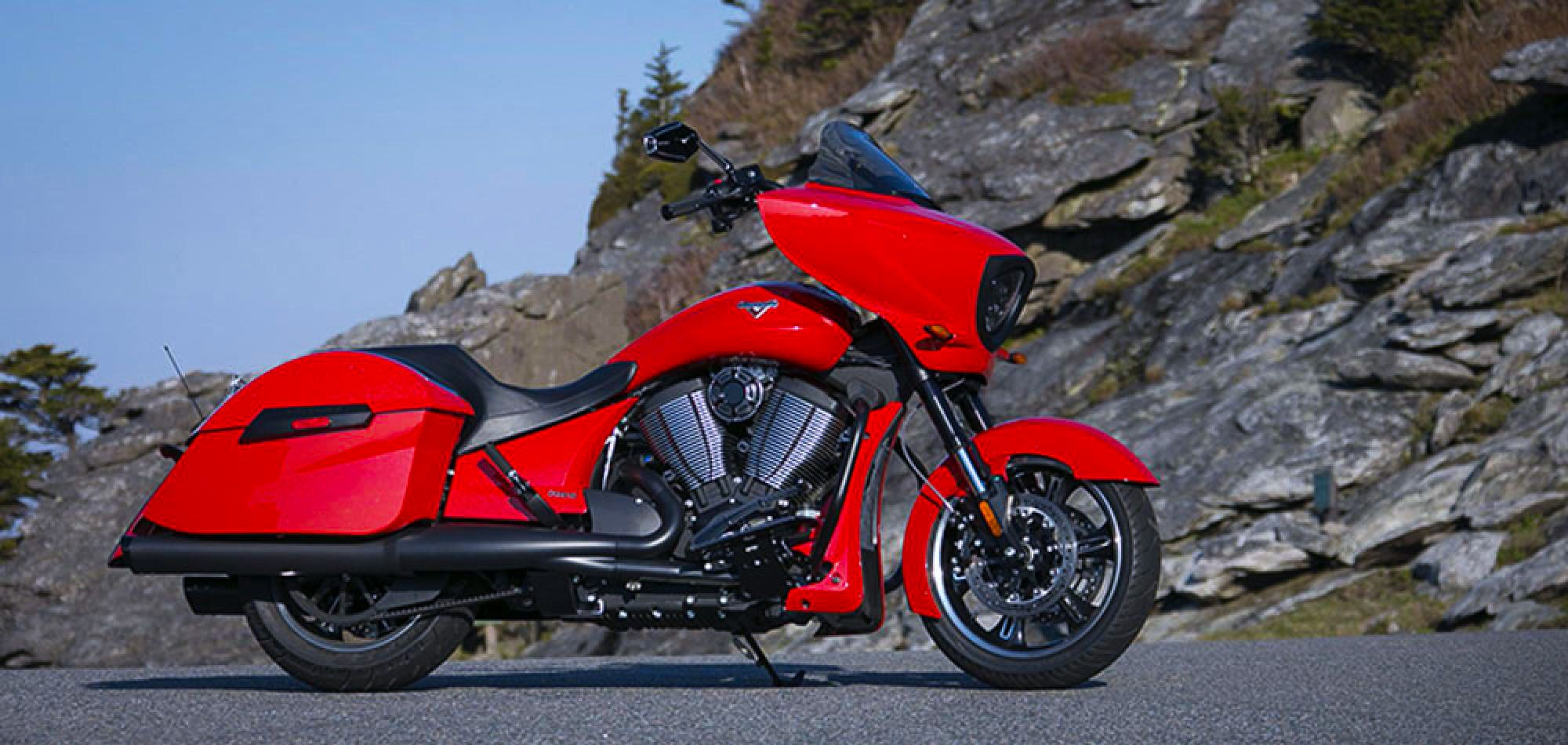 2016 Victory Cross Country.    http://victorymotorcycles.com/en-us/motorcycles and/or http://victorymotorcycles.co.uk/baggers/cross-country