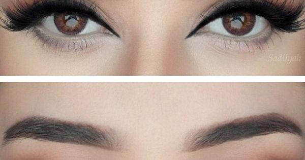 Lashes, Eye makeup and Eyes on Pinterest
