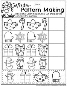 december preschool worksheets preschool activities preschool worksheets christmas. Black Bedroom Furniture Sets. Home Design Ideas