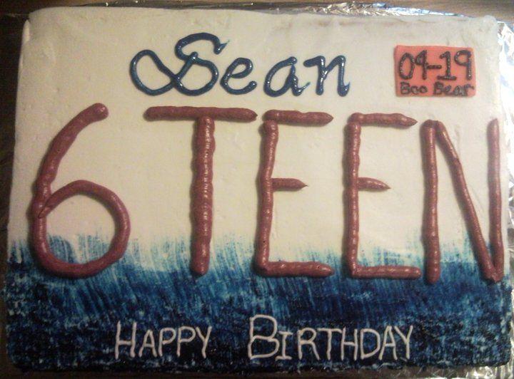 License Plate Cake Birthday Cake Girls Teenager 16 Birthday