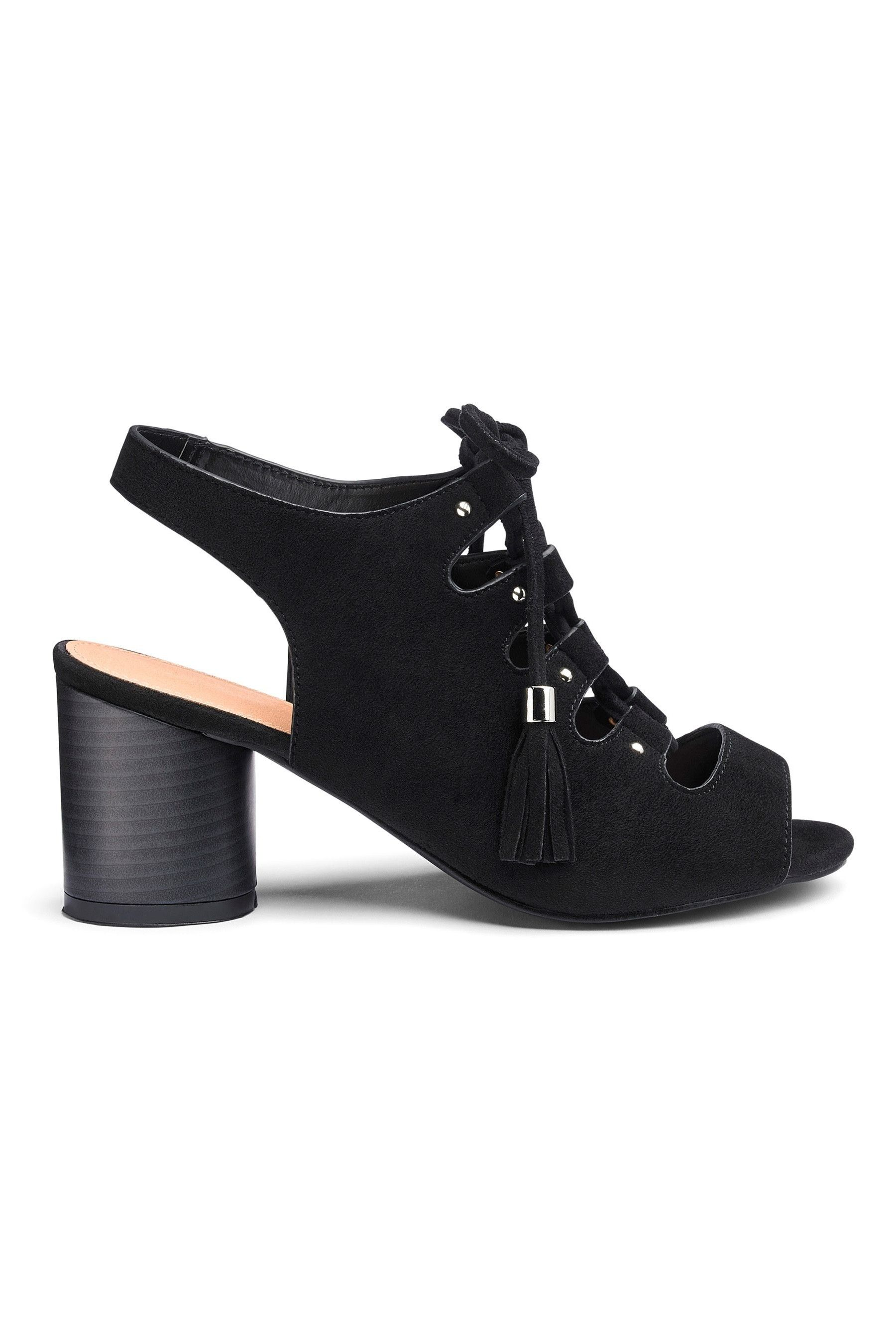 Womens Simply Be Wide Foot Evelyn Block