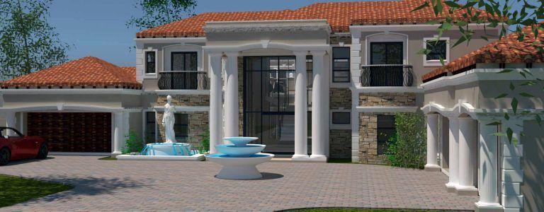 5 Bedroom House Plan T866D