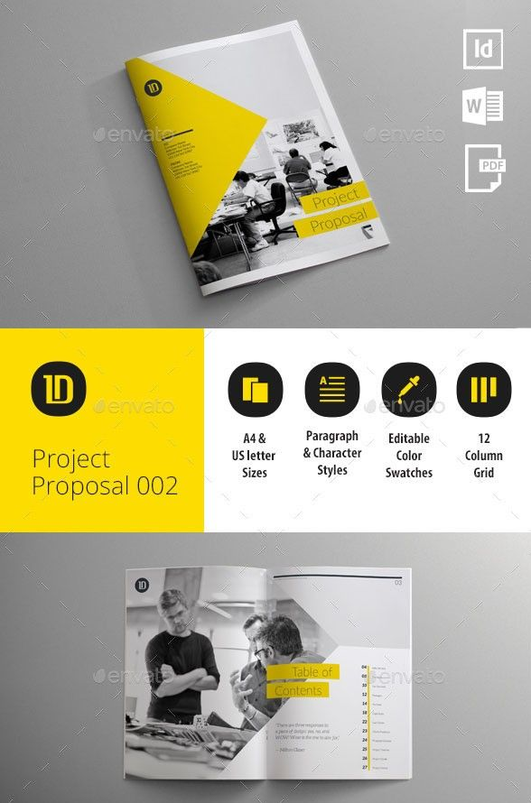55+ Best Business Proposal Templates in InDesign PSD & MS Word ...