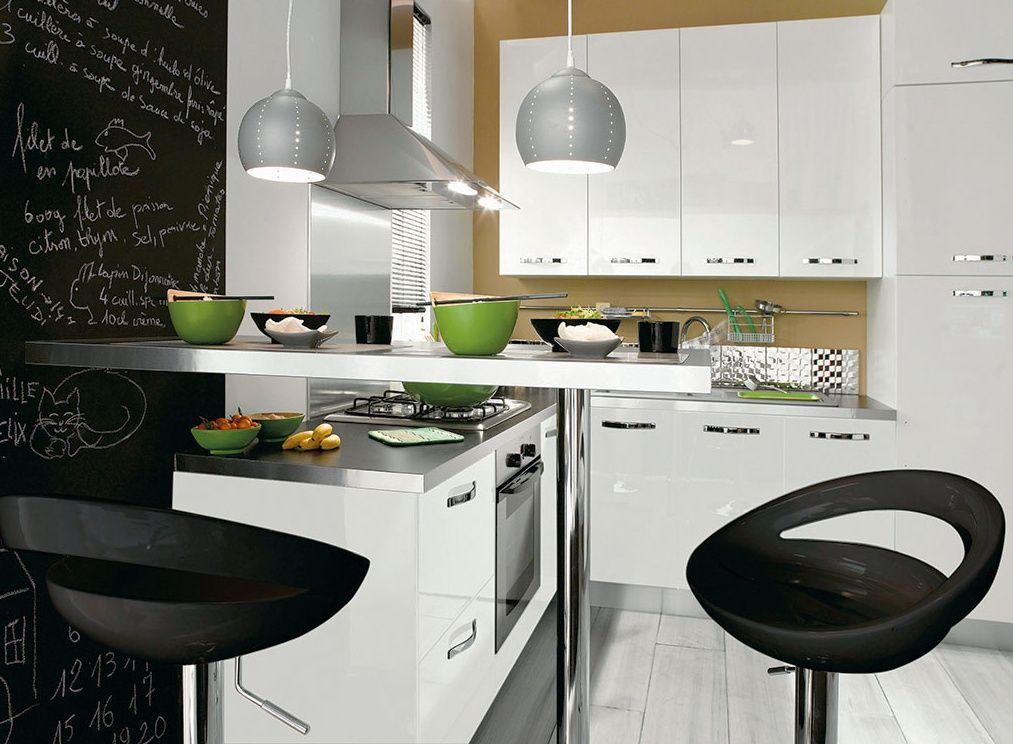 cuisine-design-conforama-1268749745jpg (1013×744) Cuisine Pinterest