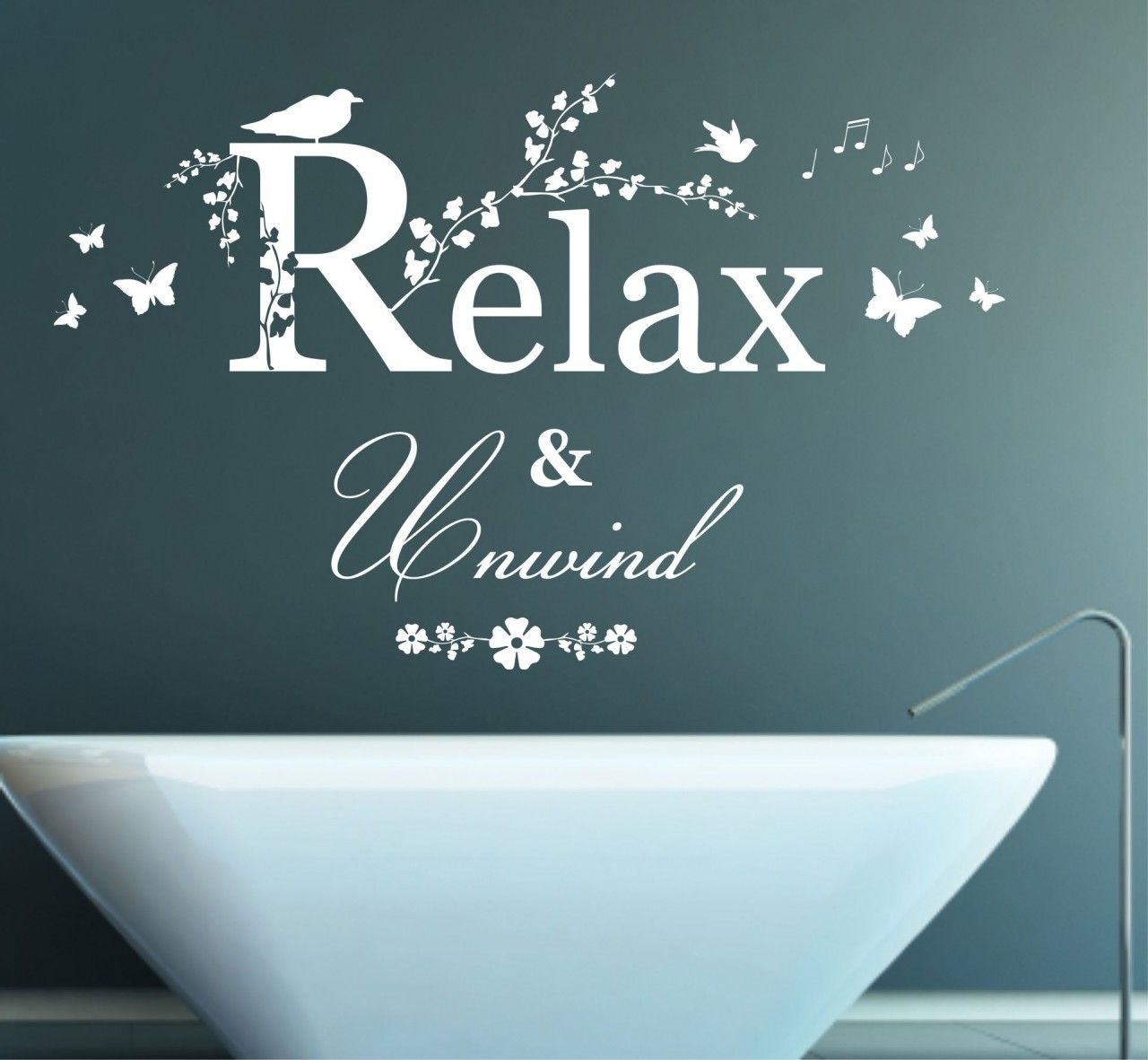 Relax pictres and quotes | Relax and Unwind Quote, Vinyl Wall Art ...