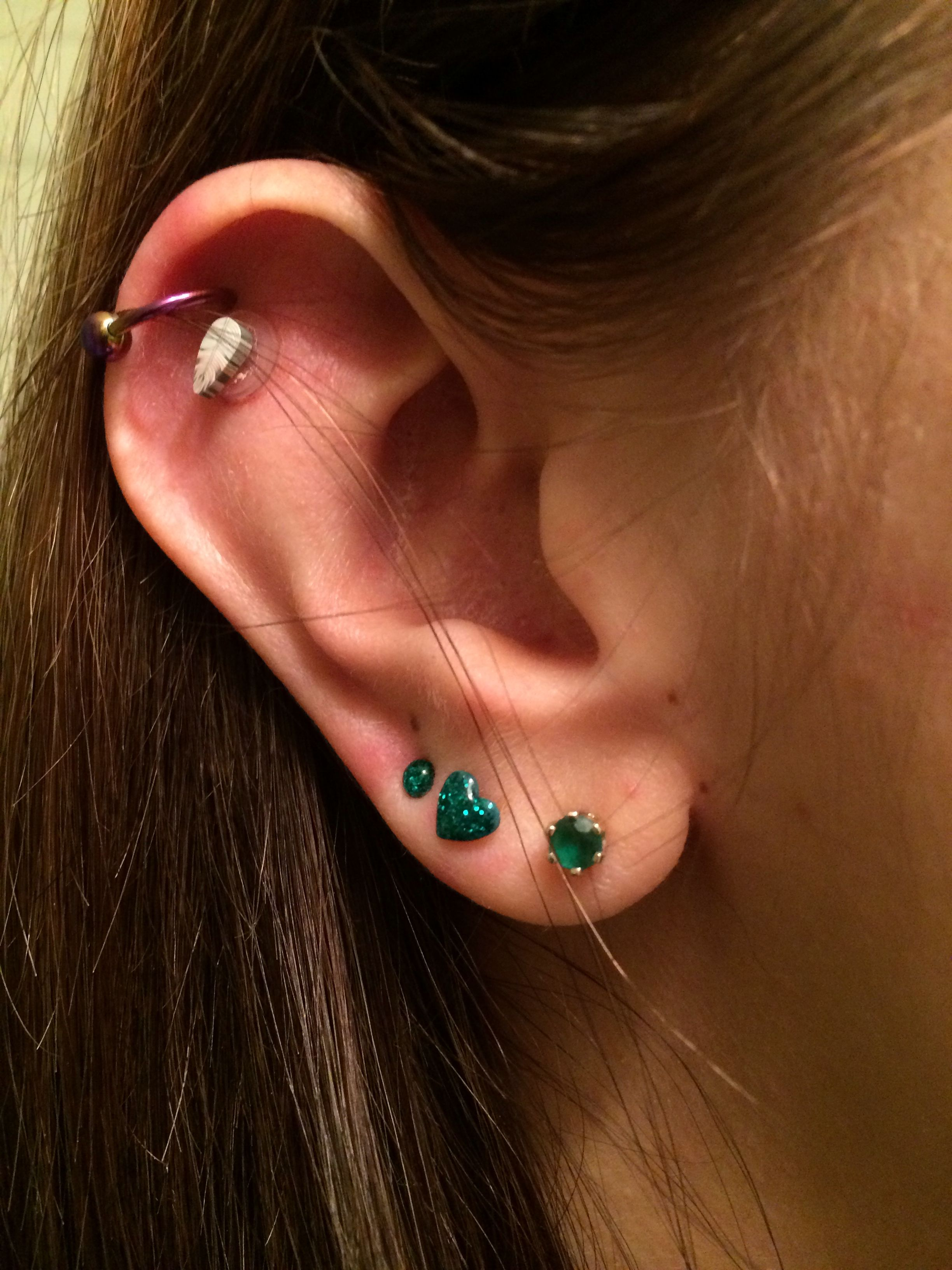 20 Ear Piercing Bump New Black Pictures And Ideas On Weric