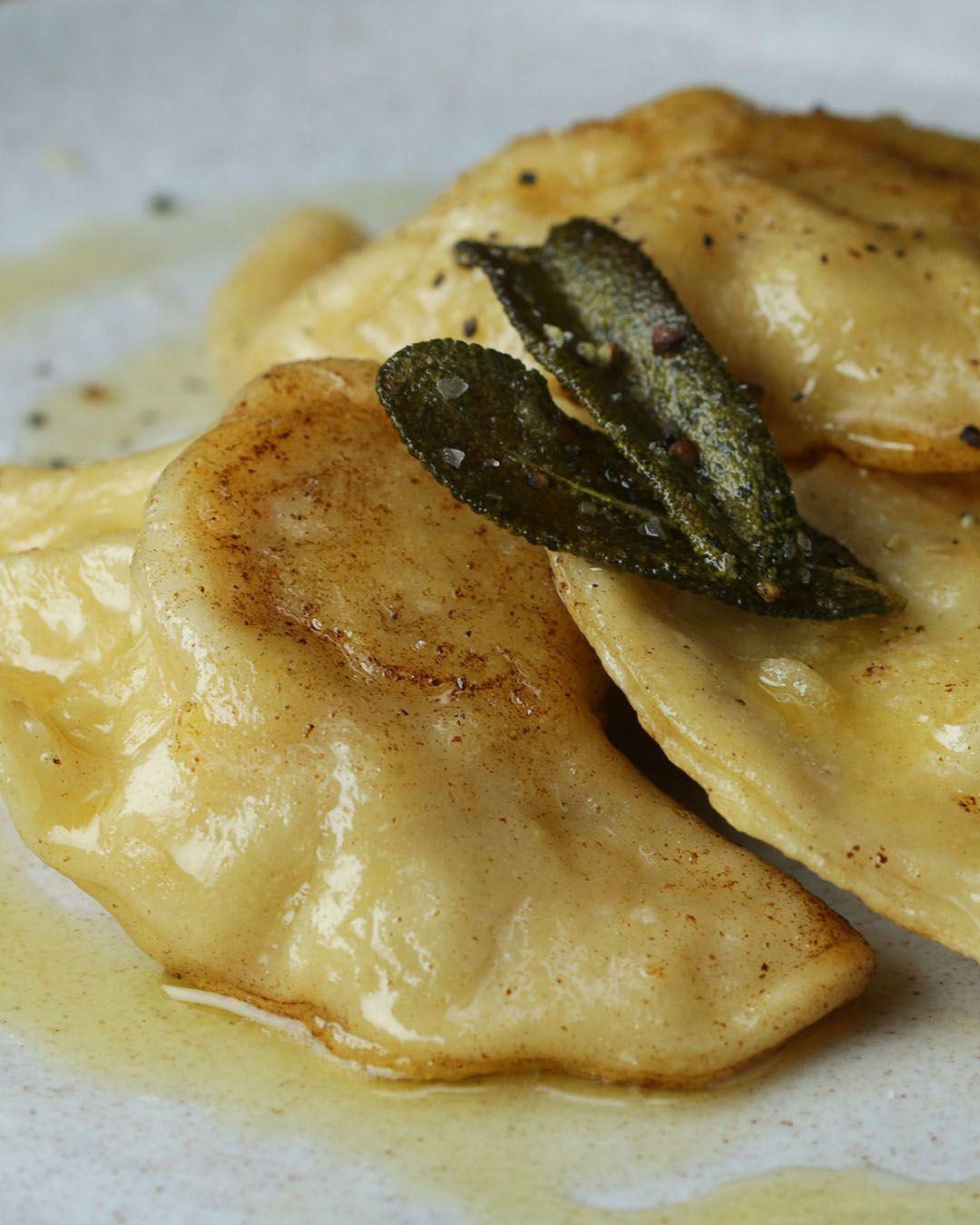Brown Butter Sage Pierogi Recipe by Tasty