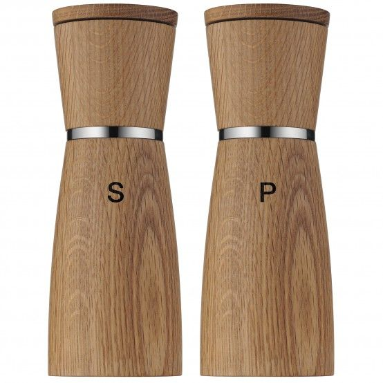 Wmf Ceramill De Luxe Spice Mills In This Design Variant Is Especially Sophisticated In The Combinati Pepper Mill Salt And Pepper Grinders Salt And Pepper Mills
