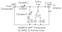 Qrp Antenna Tuner Circuit Electronic Circuits And Diagram - Wiring