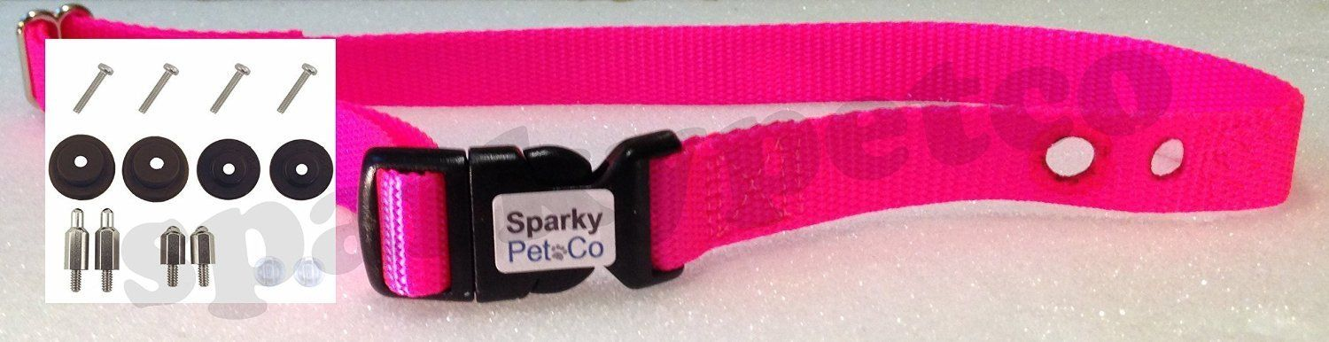 Sparky Petco Petsafe Compatible 3 4 Replacement Collar Strap Combo Accessory Re Read More Reviews Of The P Dog Training Pads Dog Training Collar Dog Shower