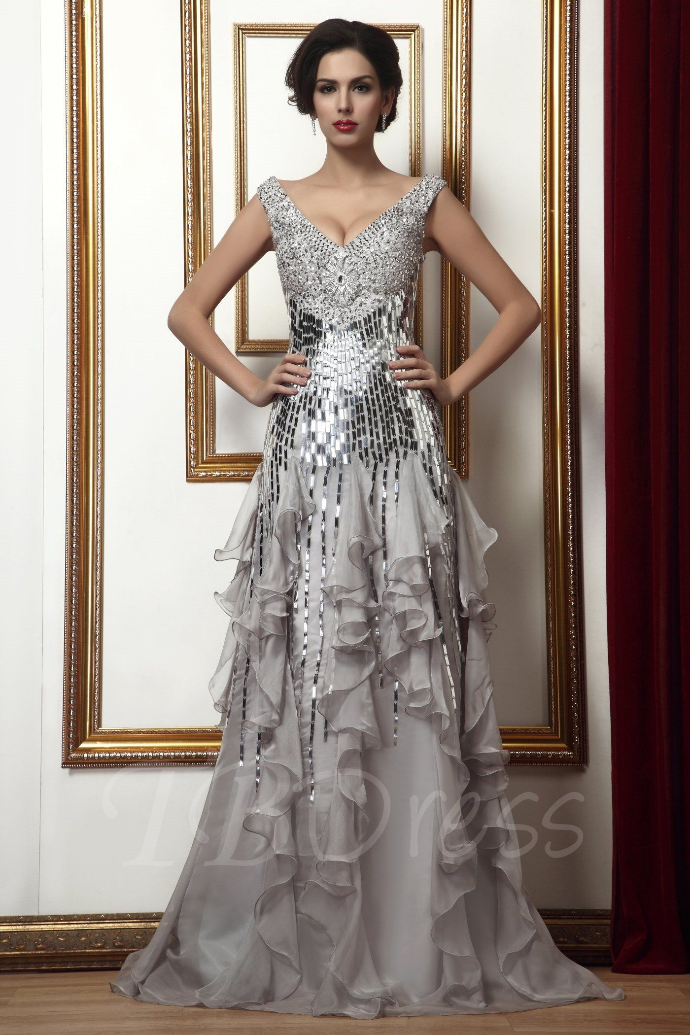 offers high quality Beading/Sequins Ruffles