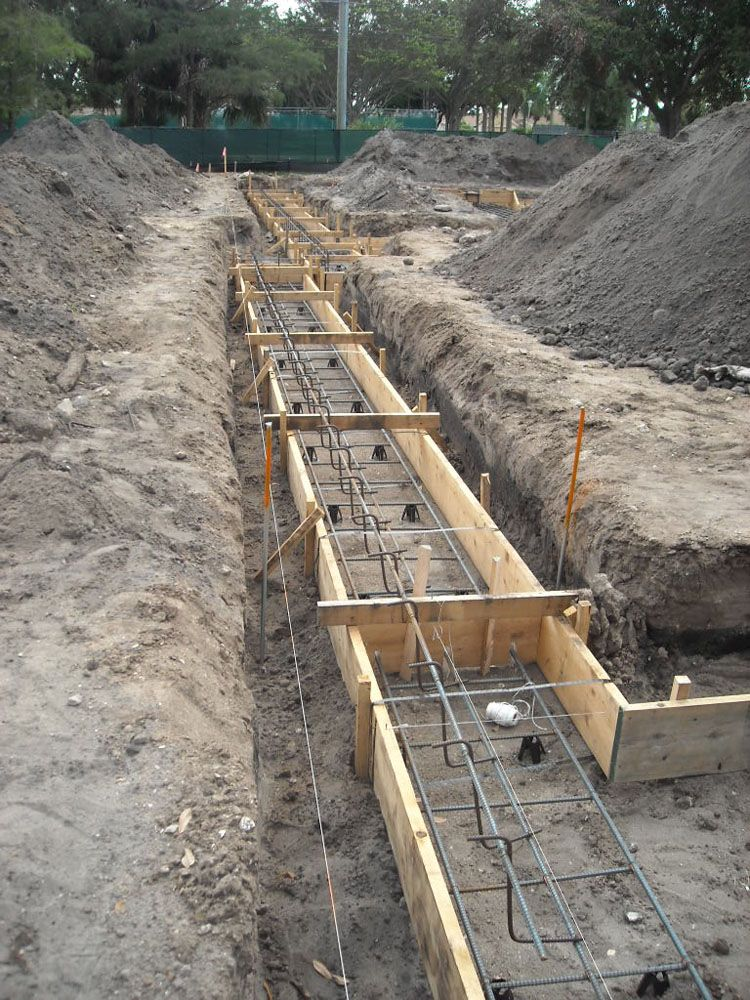 Saved Money Headaches Bids For Foundation Work One Combined Price Including Both Excavation And Concrete Each Concrete Subcont Mimari Detaylar Ev Plani Bina