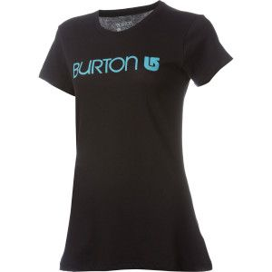 Black and blue, Burton t-shirt.