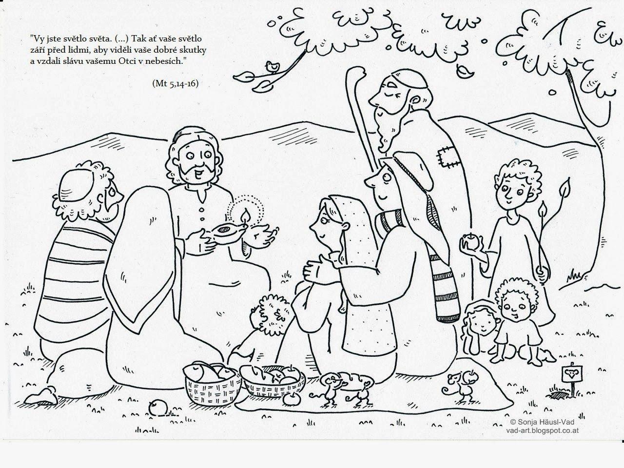 The House of Häusl-Vad: Biblické omalovánky | Drawing | Pinterest
