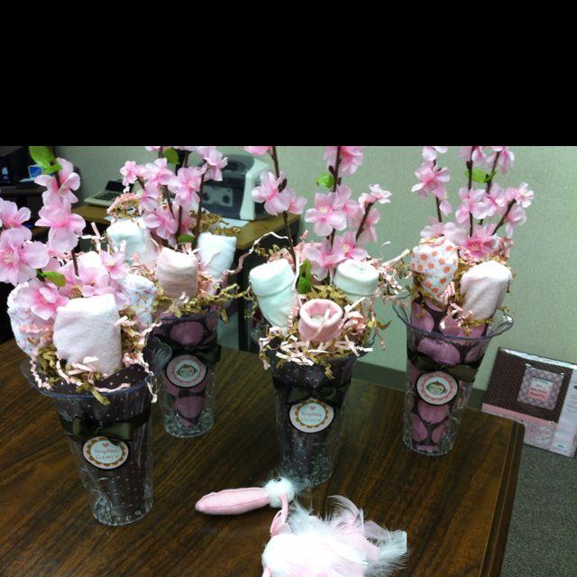 Diaper Flower Bouquets | Baby Showers By Rhonda | Pinterest | Diaper ...