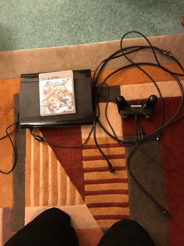 ps3 super slim w soul calibur 5 no manual new playstation move rh pinterest com playstation move menu control playstation move menu control