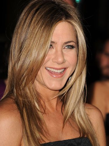 Jennifer Aniston Long Layered Hair Seriously Has She Ever Had A