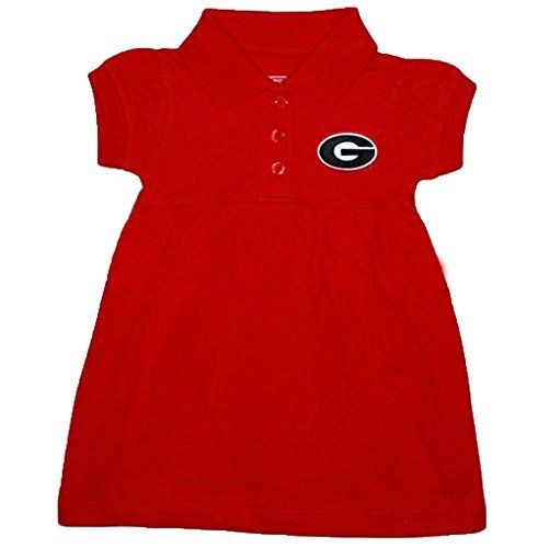 Georgia Bulldogs NCAA Newborn Baby Two Piece Dress W Bloomer 12 Months  -- See this great product. (This is an affiliate link)
