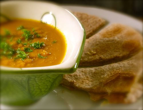 Coconutty Carrot Soup