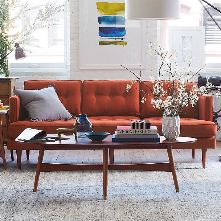 Buy west elm Reeve Mid-Century Walnut Coffee Table Online at johnlewis.com
