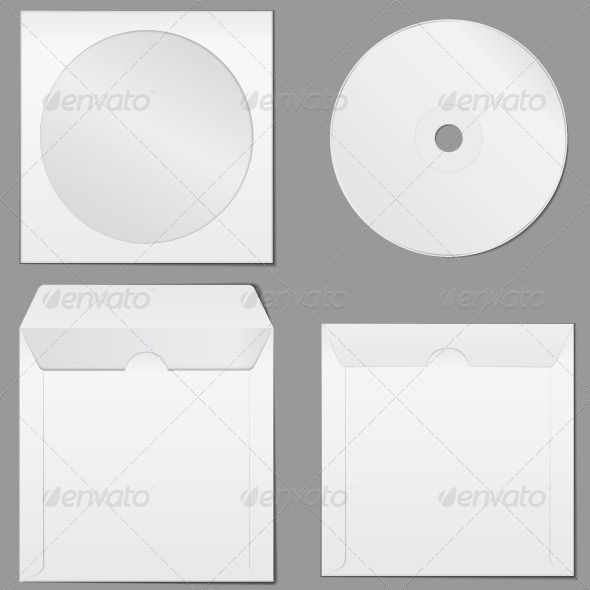 CD Case Cd cases - compact cd envelope template