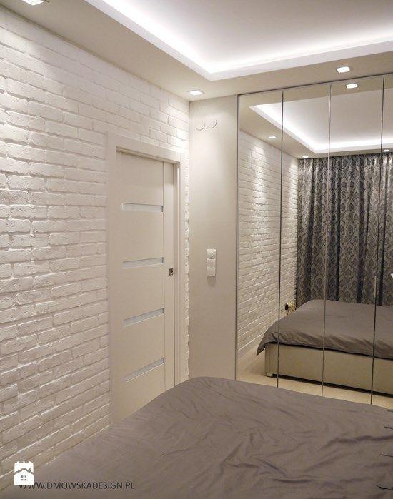 Biała Cegła W Sypialni Zdjęcie Od Bjm Bricks Biała Cegła